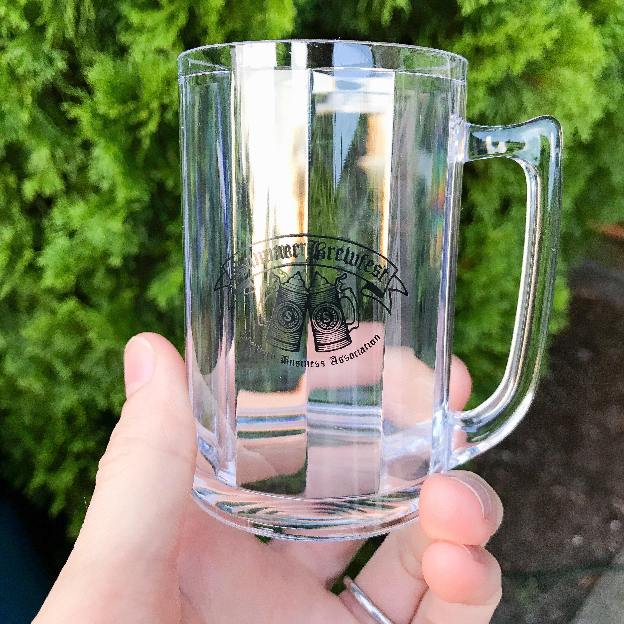 Our mini beer mug