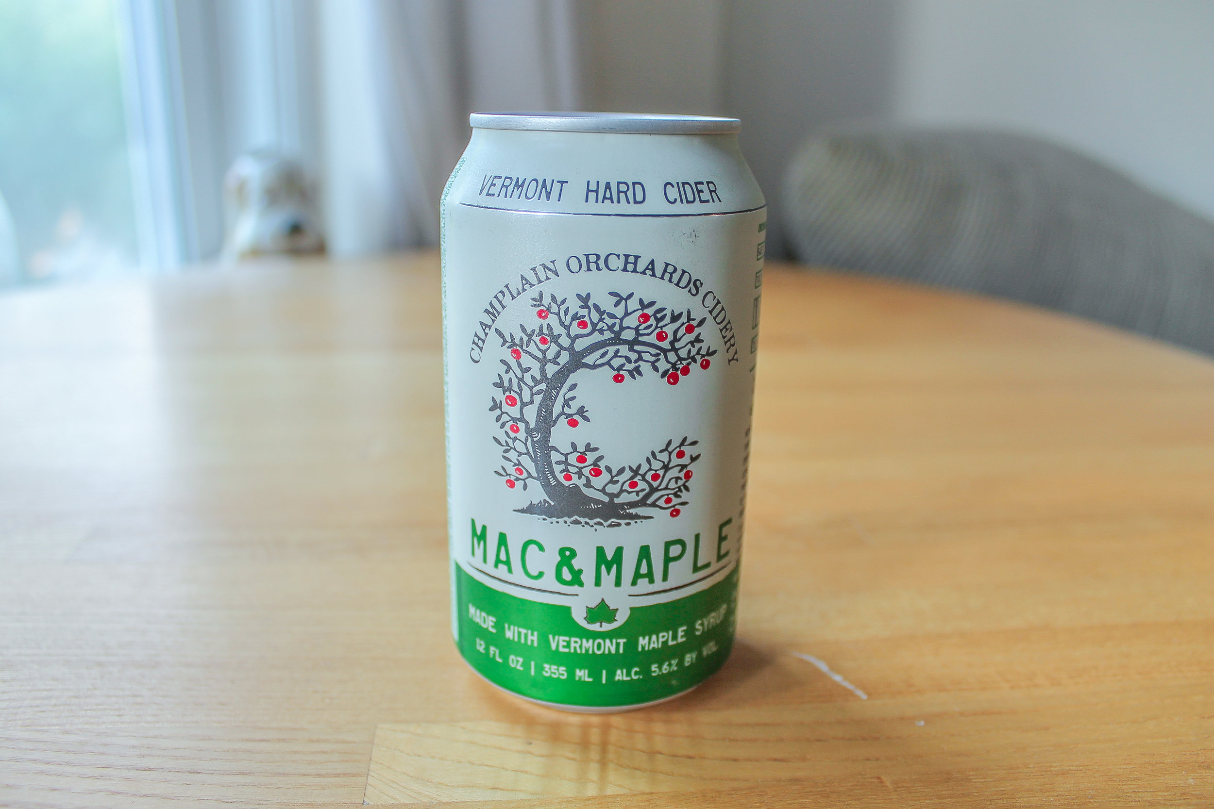 Champlain Orchards Cidery: Mac and Maple