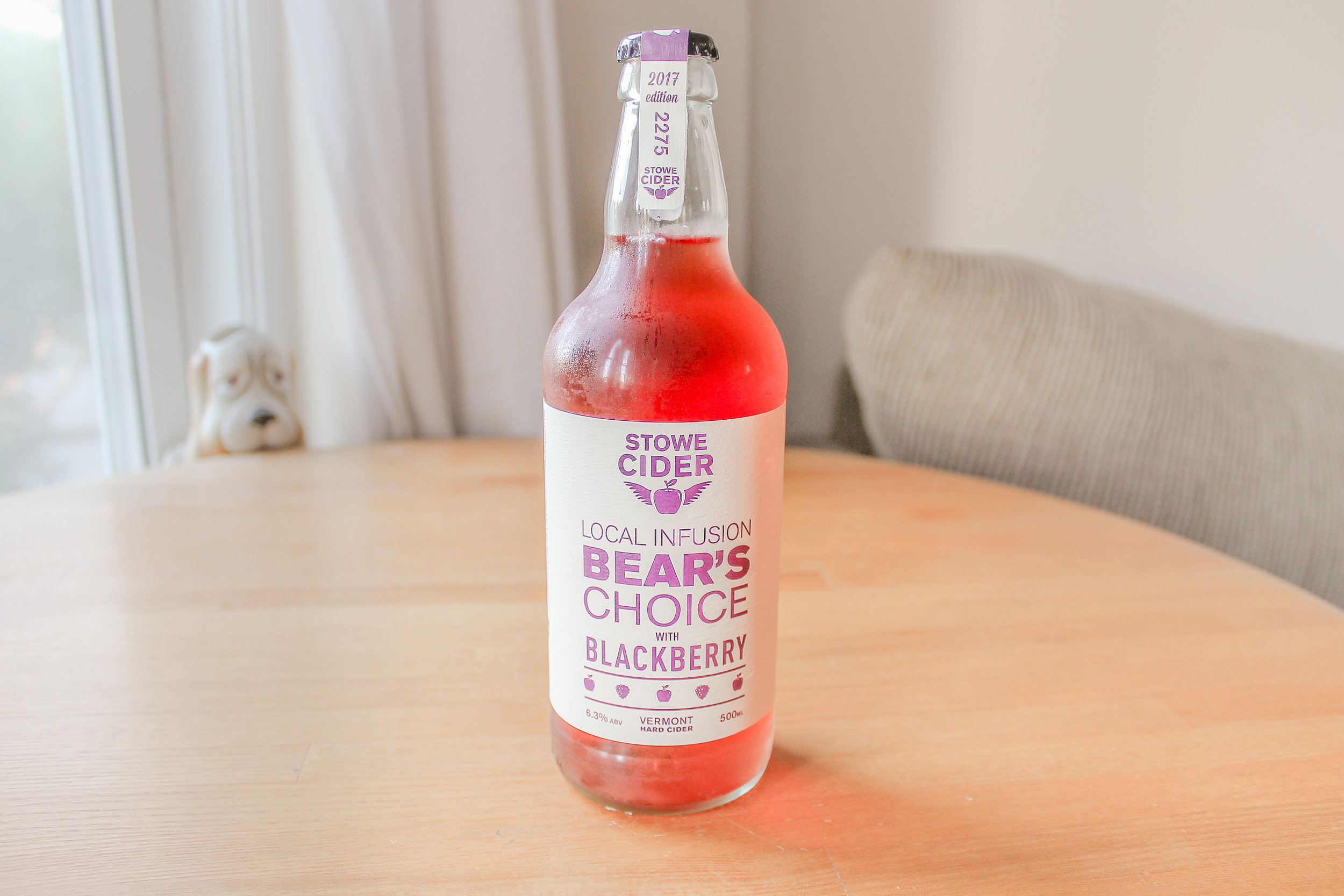 Stowe Cider: Bear's Choice with Blackberry