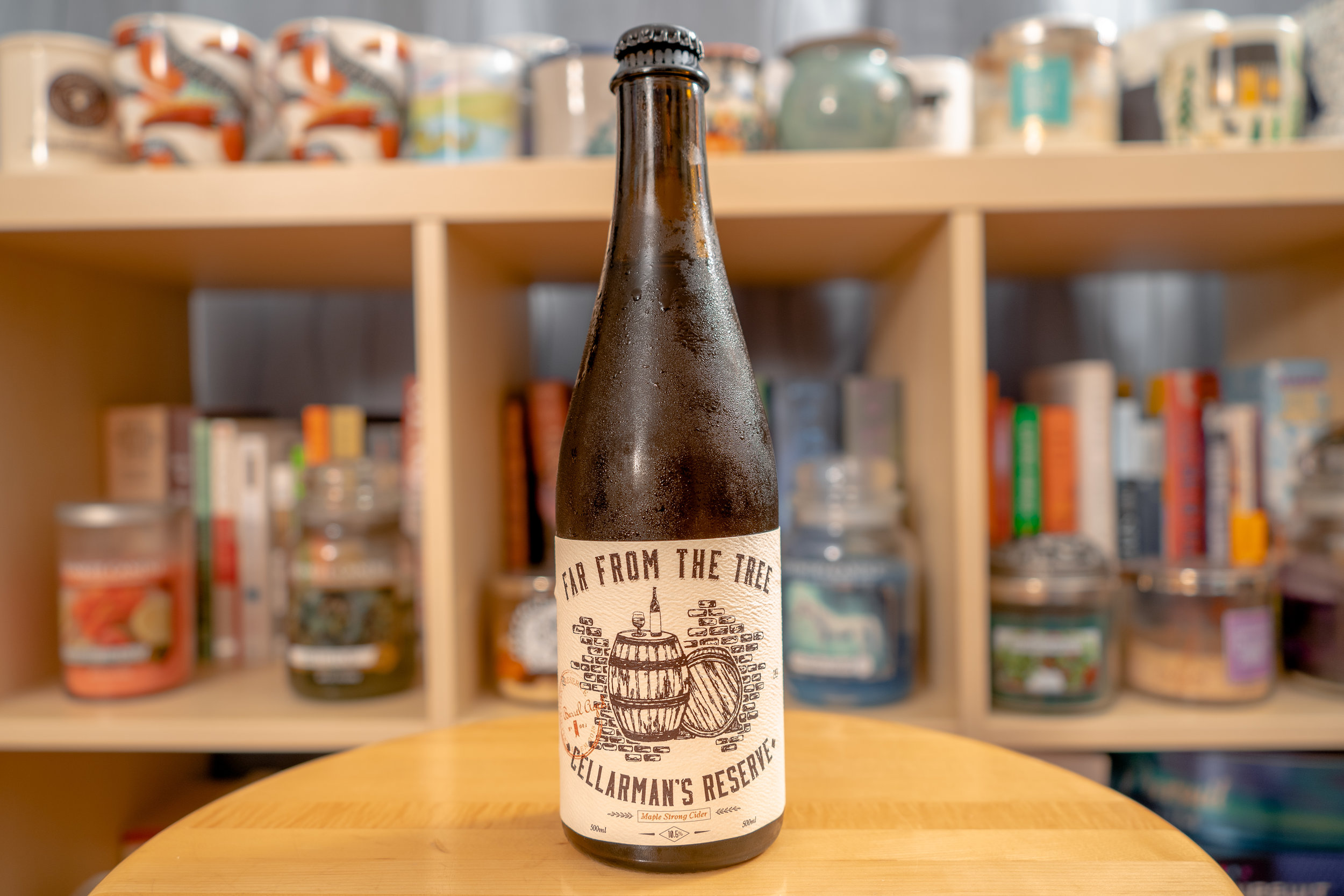 Far from the Tree Cellarman's Reserve Maple Strong Cider