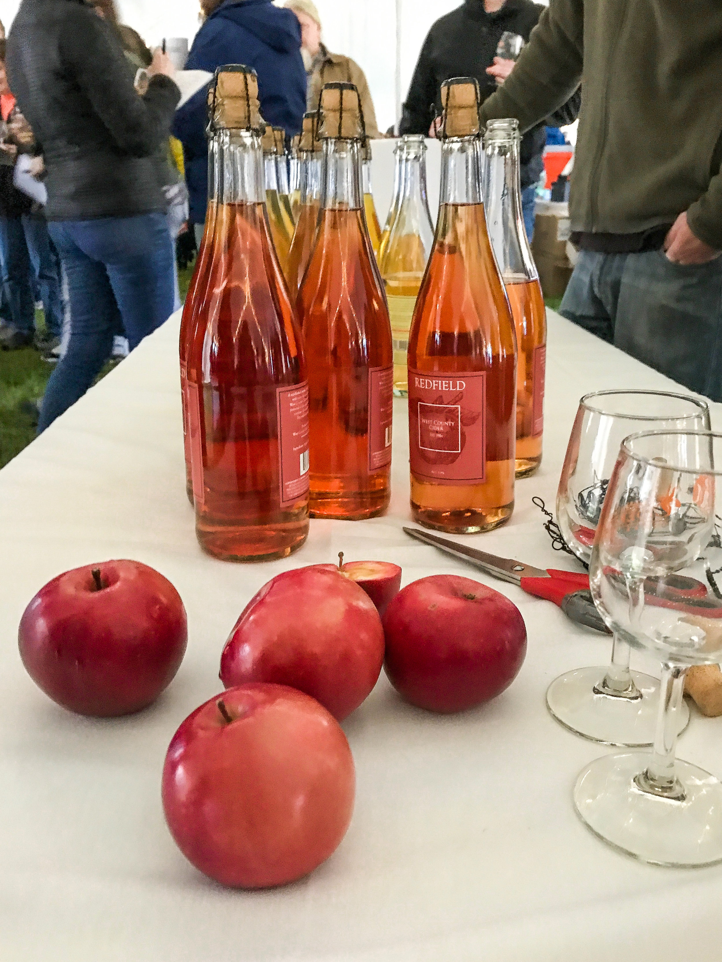 West County Cider's Redfield cider