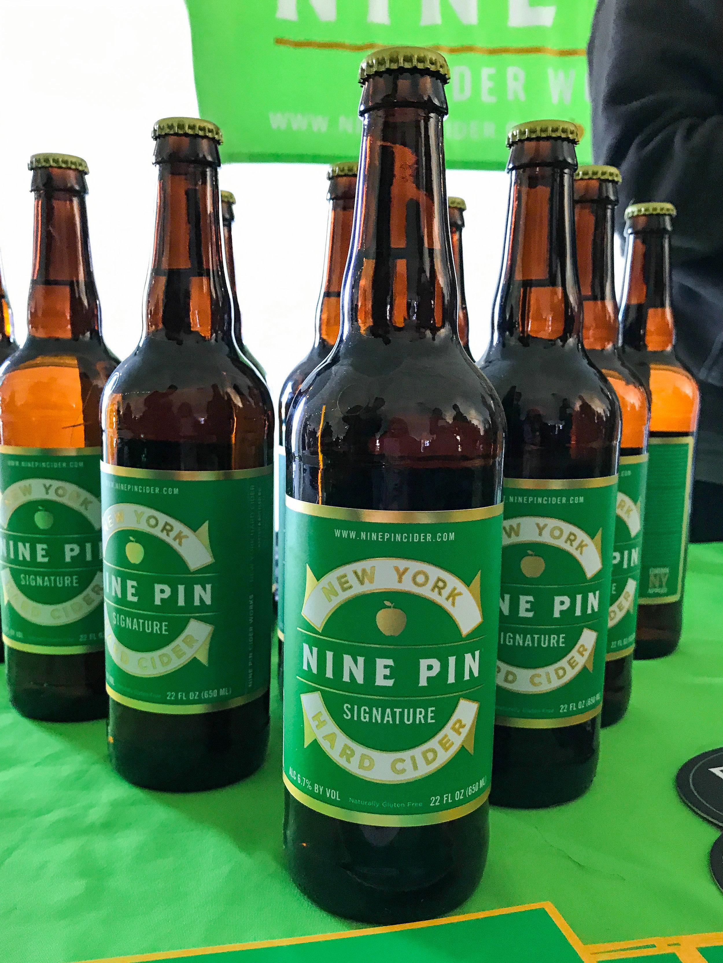 Nine Pin's Signature cider
