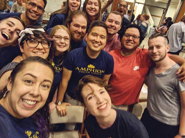 Amphion alumni happiness!!