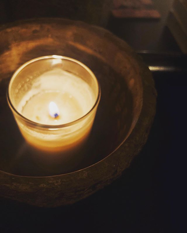 """A dear friend lost his mom last night. When I woke early this morning, on a day with a certain weight to it anyway, all I could do was take a pause. Light a candle. Sit in silence for just a moment. And send up a Buddhist blessing I've made my own. To him. For her. For all those we lost today so many years ago. . May you be safe. May you be happy. May you be strong. May you live with ease. May you find joy. May you be love. May you be well. . Grief is a thing I don't have much experience with. And I feel helpless to help despite my desire. To provide comfort. An ease of pain. Peace. . I keep thinking about the book I'm just finishing up (and can't stop recommending)—Maybe You Should Talk to Someone: A Therapist, HER Therapist, and Our Lives Revealed by Lori Gottlieb. The author talks about helping a client process her terminal illness. About grief. About how we move with it, instead of trying to find its finish. She writes, """"Besides, how can there be an endpoint to love and loss? Do we even want there to be? The price of loving so deeply is feeling so deeply—but it's also a gift, the gift of being alive. If we no longer feel, we should be grieving our own deaths."""" . I think maybe there's something to that."""