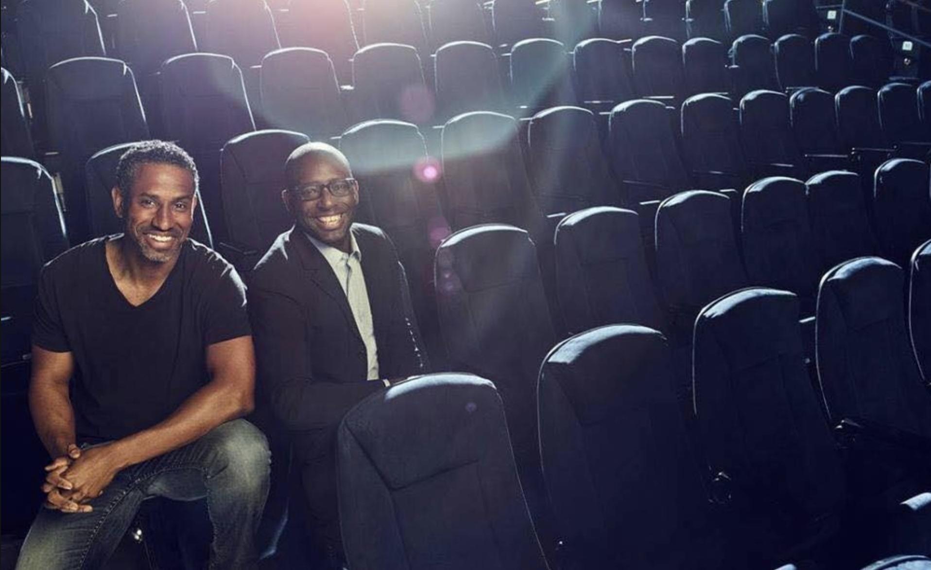 MoviePass founders Hamet Watt and Stacy Spikes