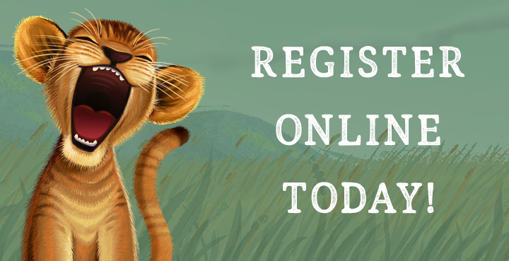 Register Online Today