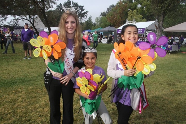 Photo courtesy of the  Stockton Walk to End Alzheimer's Facebook Event's page .