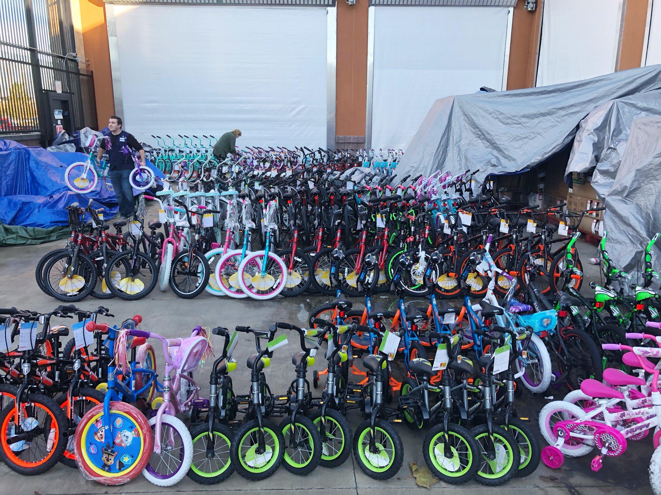 Bikes for Lodi Adopt-a-Child