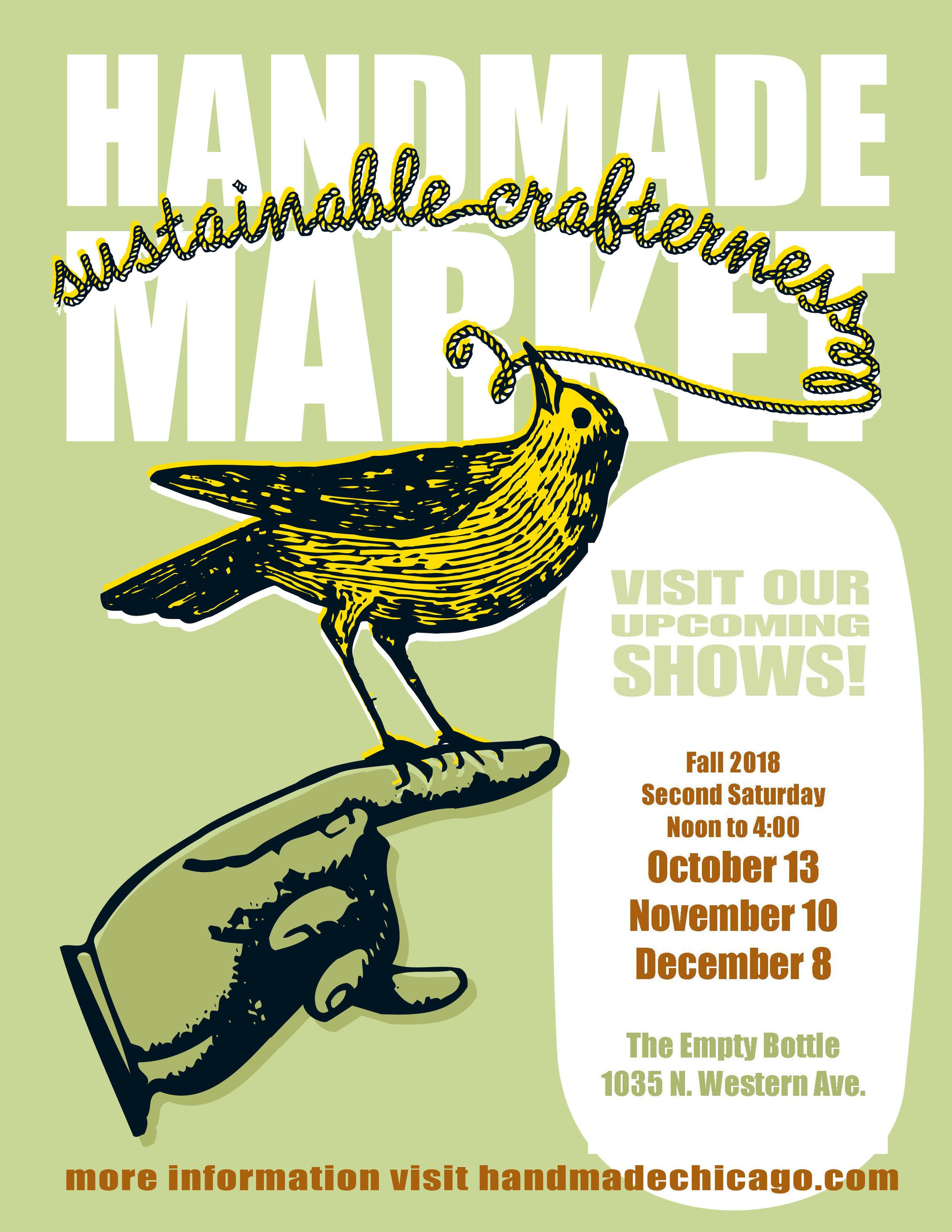 I'll see you December 8th!  #HandmadeMarketChicago