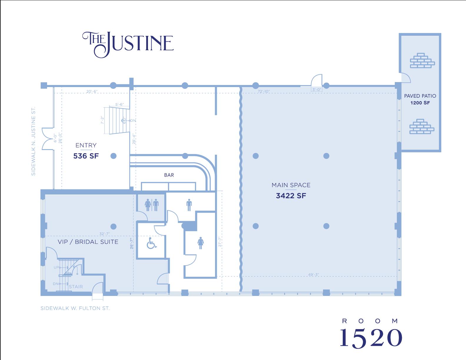 The Justine Floor Plan