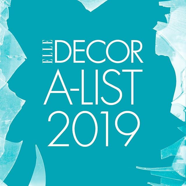 Super excited to be on the brand new 2019 ELLE Decor A-List! A big Thank You to @elledecor @whowhatwhit @ingridabram and @charlescurkin for the honor. Great news as we gear up for @fieldandsupply this weekend and even more reason to celebrate! I also want to thank my amazing team at @brad_ford_id @fairnyc and @fieldandsupply I certainly couldn't do it without you! #ELLEDecor #EDAList #EDAList2019 #fieldandsupply