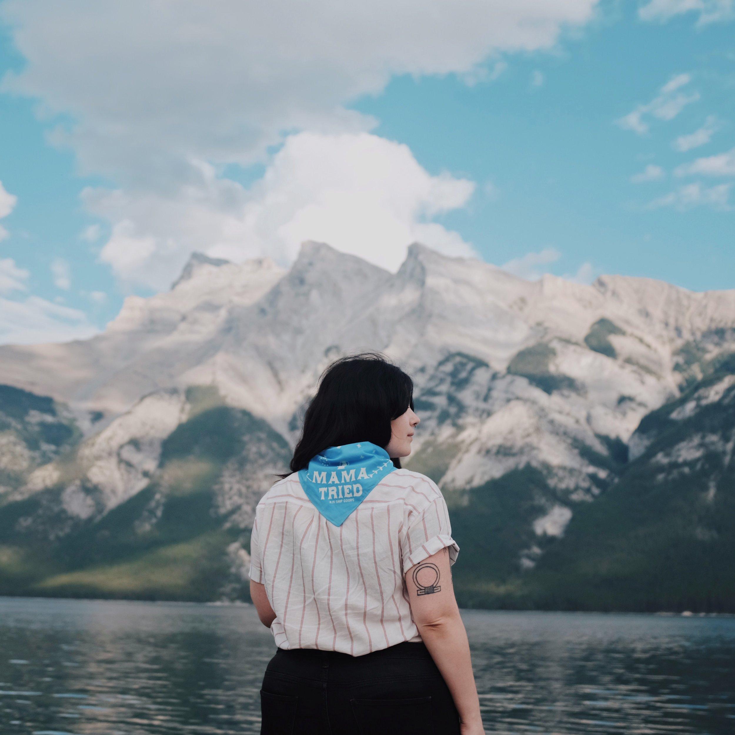 Banff-Lake-Minnewanka-Mountains