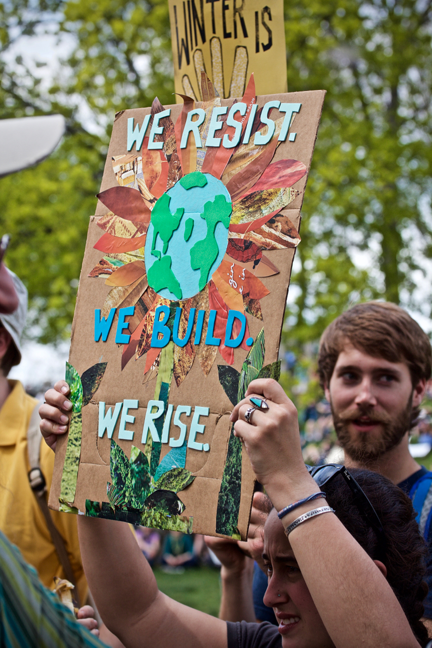SPEAK FOR THE TREES (WATER, EARTH AND AIR)