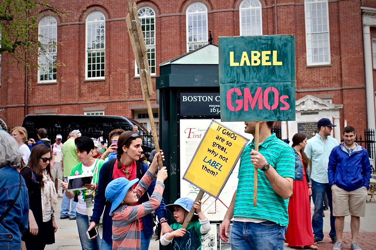 LABEL GMOs / MARCH FOR FOOD JUSTICE