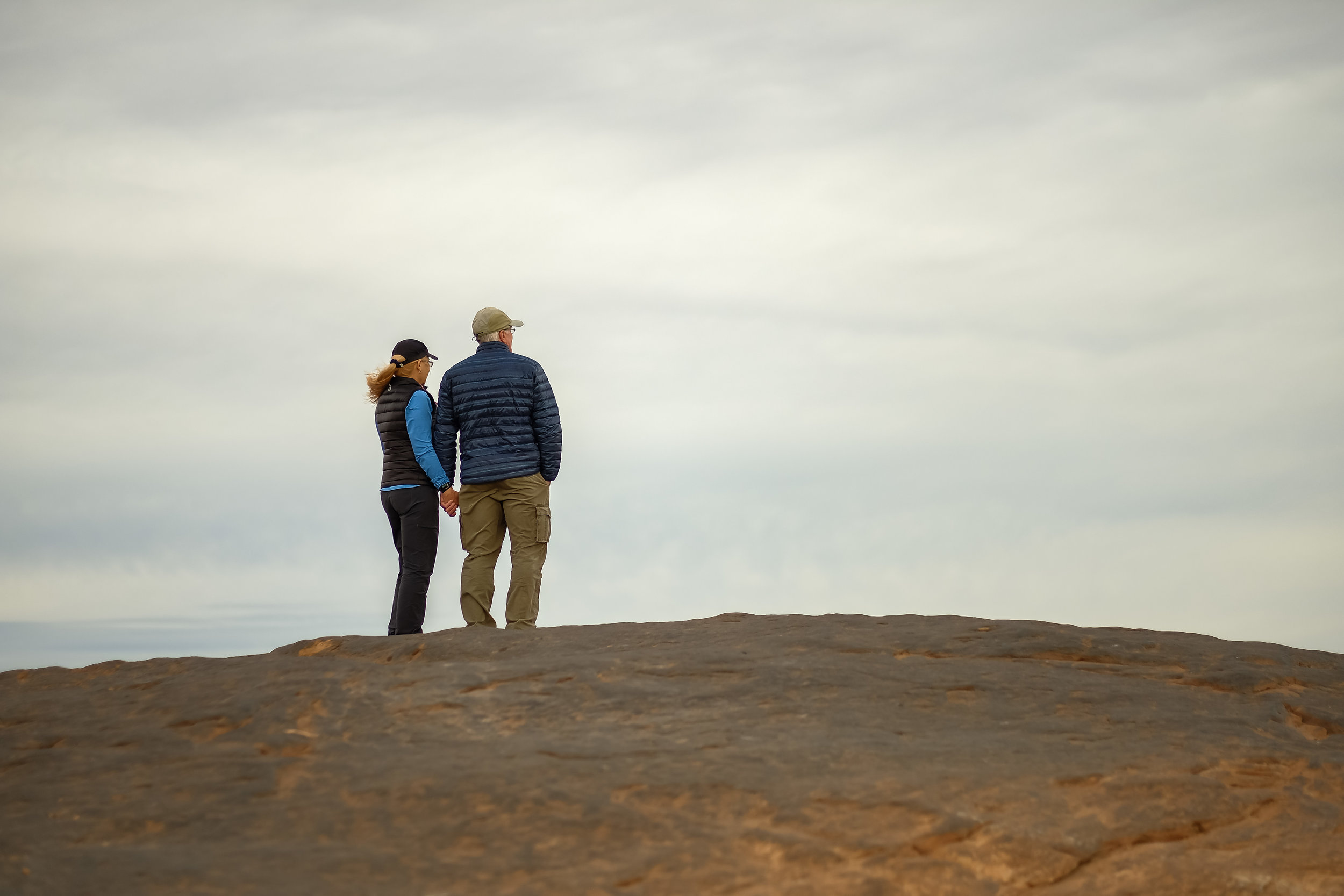 Tom and Debbie at the Overlook.  Fuji X-T2, 56mm f/1.2 Lens