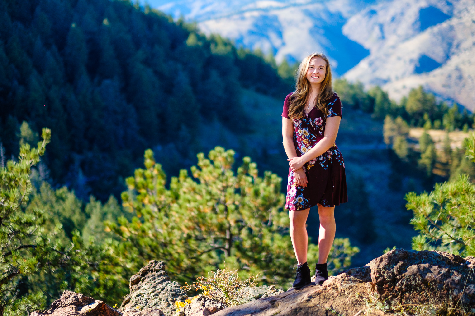 Isabell's Senior Picture at Lookout Mountain