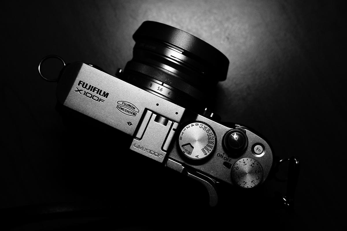 Day 10 - 365 B&W Challenge - Fuji X100F, taken by a simple desk lamp - Fuji XT-2, XF 35mm f/2, Acros R Film Simulation