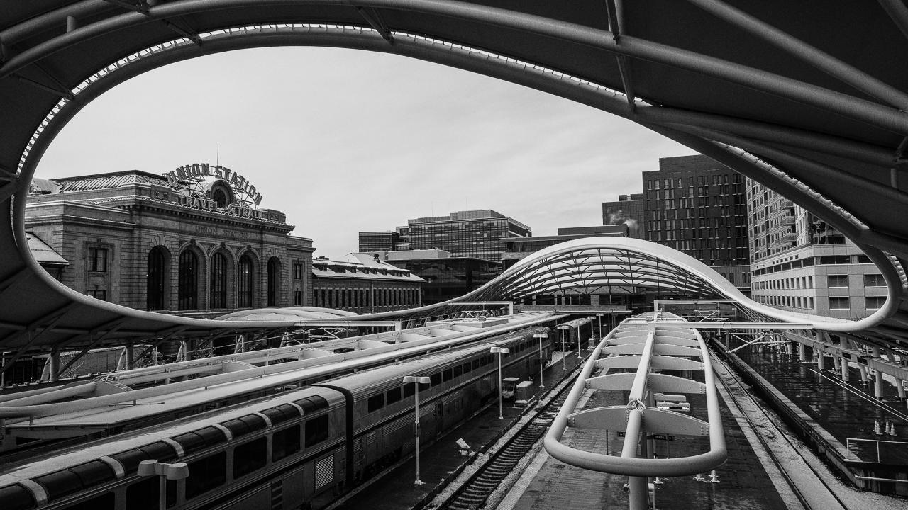Union Station Train Platform