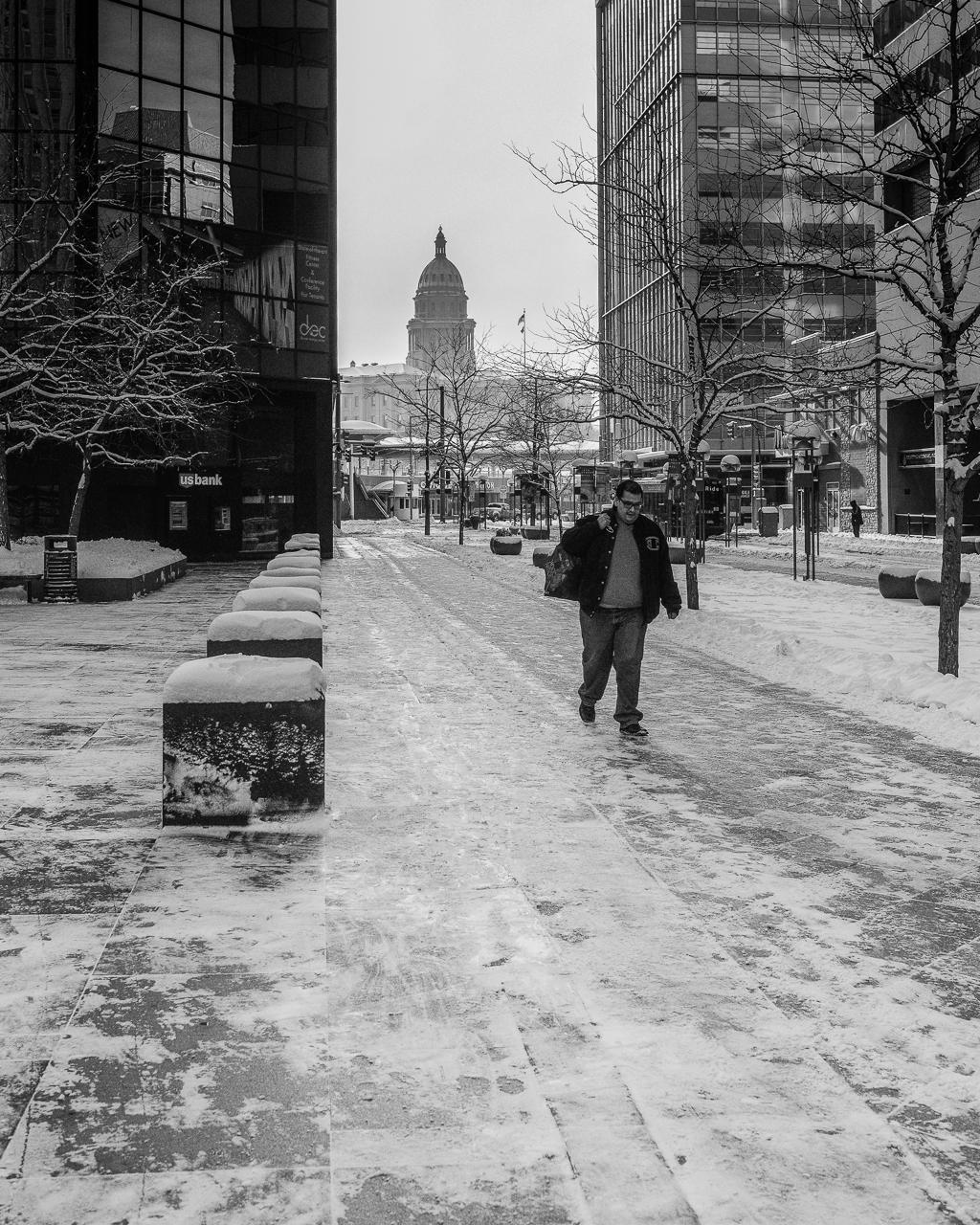 Snowy Morning Walk