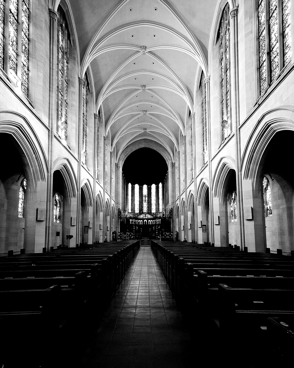 The chapel of St. John's Episcopal Cathedral in Denver, Colorado