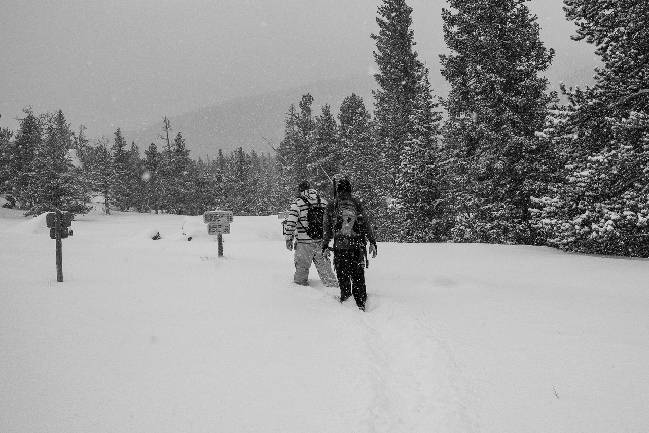 Hiking from the Storm Pass Trailhead