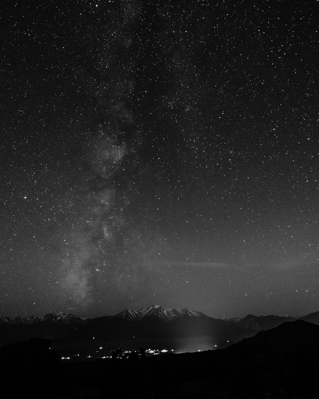 Milky Way over the Collegiate Peaks