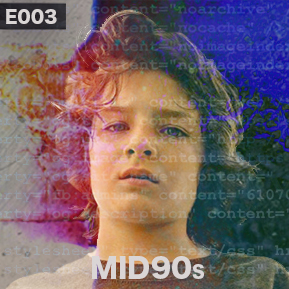 """EP. 3 - """"MID90s"""" [Guest: The Critical Unbeliever]  // Comedian and culture critic The Critical Unbeliever talks Mid90s with Jake."""