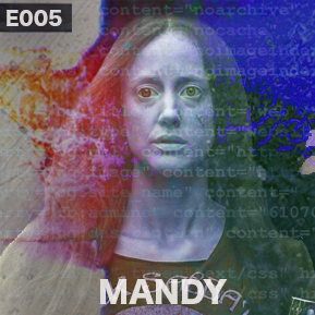 """EP. 5 - """"MANDY"""" ABBREVIATED [Guest: Tom West]  // Tom West returns to talk about the cult film Mandy."""