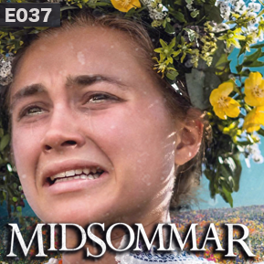 """EP. 37 - """"MIDSOMMAR"""" [Guest: Brandi Lawson] // Discussing Ari Aster's follow up to his 2018 hit Hereditary with culture critic Brandi Lawson."""