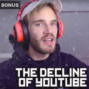 """EP. BONUS 5 - """"THE DECLINE OF YOUTUBE"""" [Guest: Wizard of Cause] // Nick Goroff and LowRes continue the conversation and discuss the decay of YouTubers."""