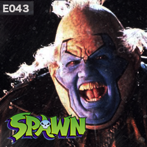 """EP. 43 - """"SPAWN - PART 2"""" [Guest: Brandi Lawson] // The conversation between LowRes and Hans on Spawn and comic book films of the past and present eras continues."""