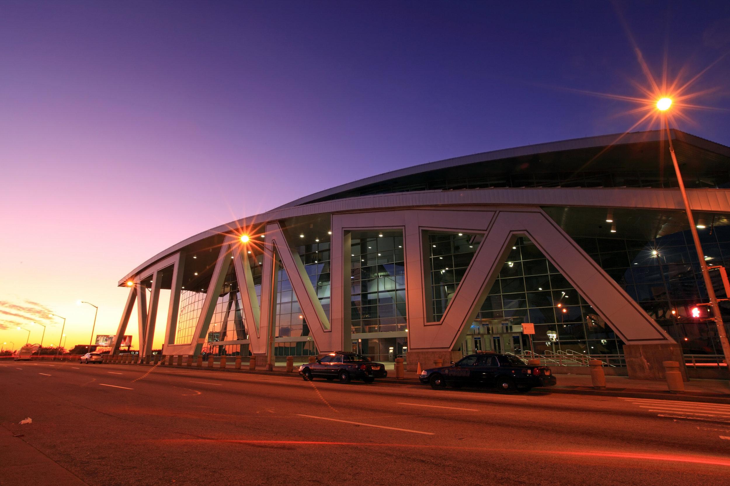State Farm Arena - Atlanta, GA -- Home of the Atlanta Hawks, previously known as