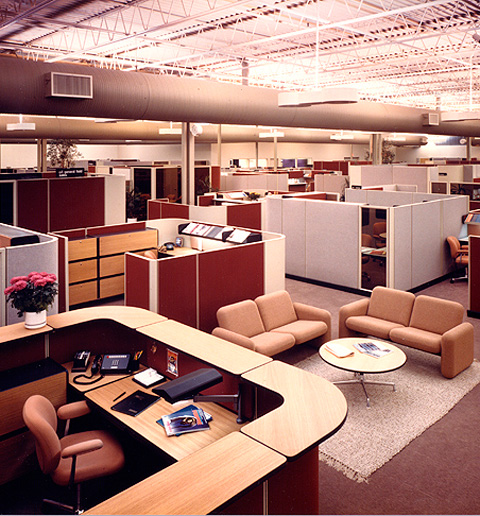 - At the core of Propst's original creation was giving workers a sense of purpose. Everyone had their own space, he was the first to introduce pinboards where you could hang family pictures or important notes. Another genius touch was what ultimately led to the cubicle's demise, each space was modular. Teams could alter their wall height and position based on the day, season or their own personality.