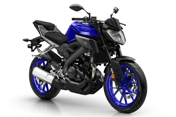 Yamaha MT-125 worth £4,299!