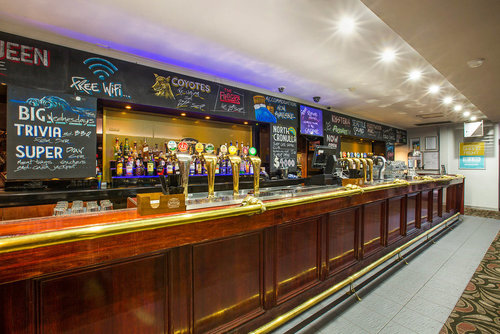 Saloon Bar - The Saloon Bar is filled with natural light and has direct access out onto the paved terrace area.