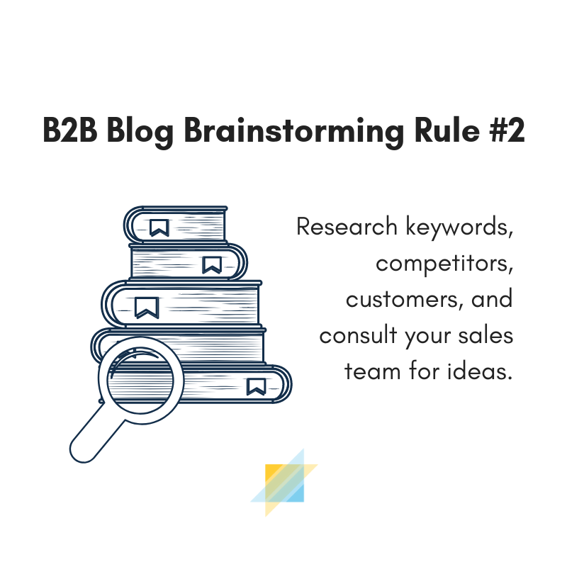 Research your B2B content