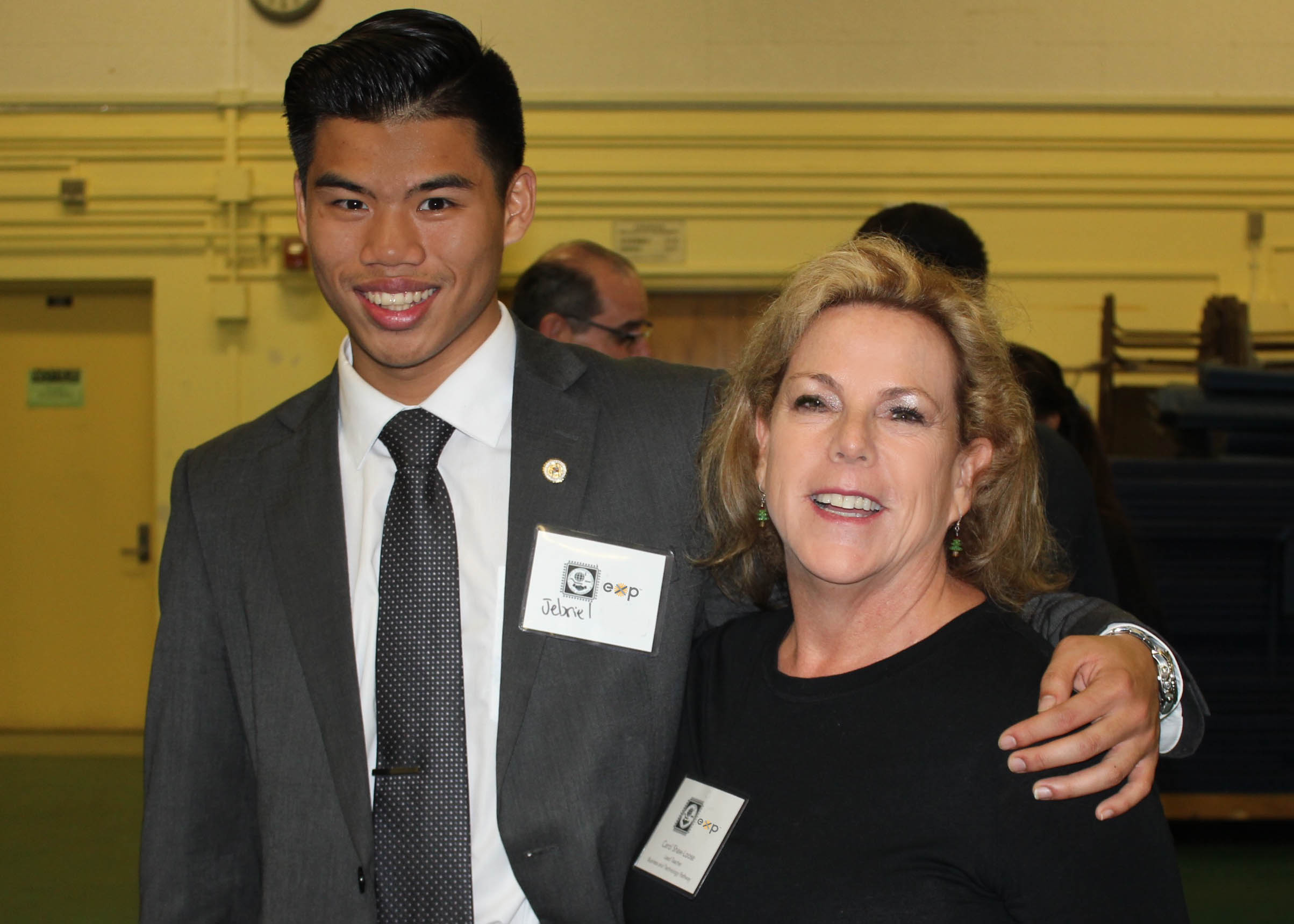 EXP supports us every step of the way with hands-on learning opportunities like job shadow field trips, the internship program, and the GPS Your Future event. It is very rewarding to watch these young adults blossom in a business environment. - - Carol Shaw, lead teacher, Business, Entrepreneurship and Technology Academy (BETA), Narbonne High School