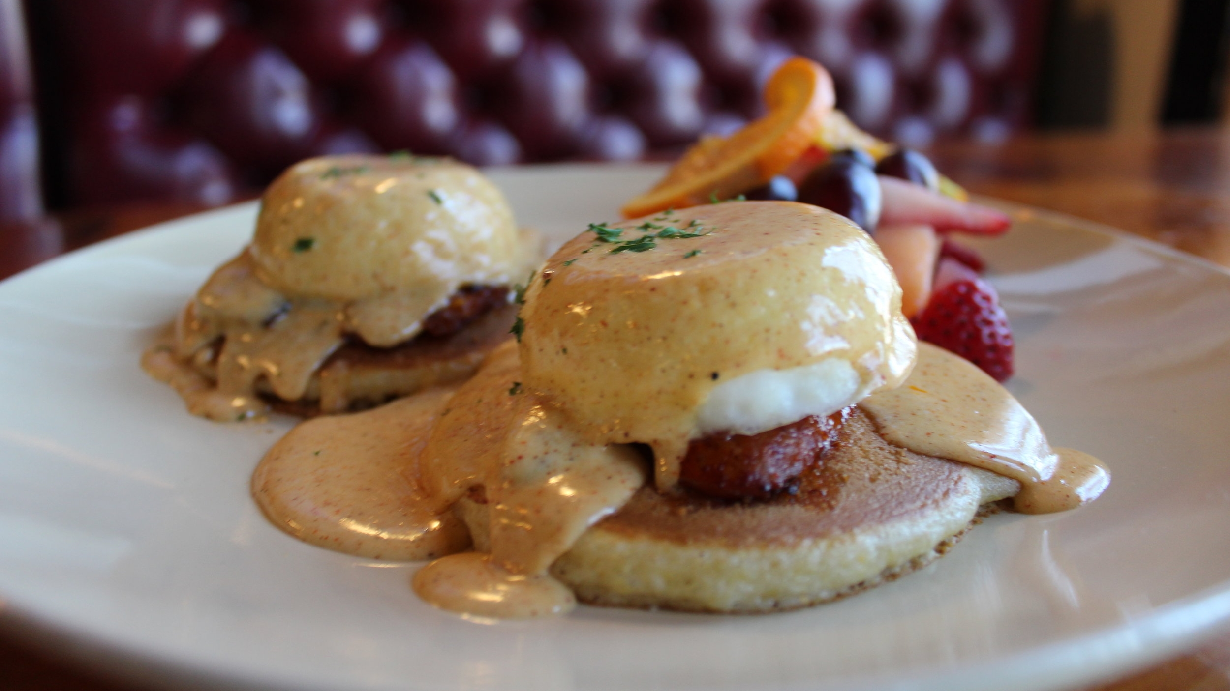 Louisiana Bayou Benedict * a staff favorite