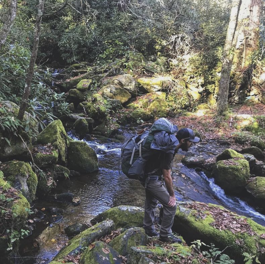 Wilderness backpacking trips - Great Smoky Mountains
