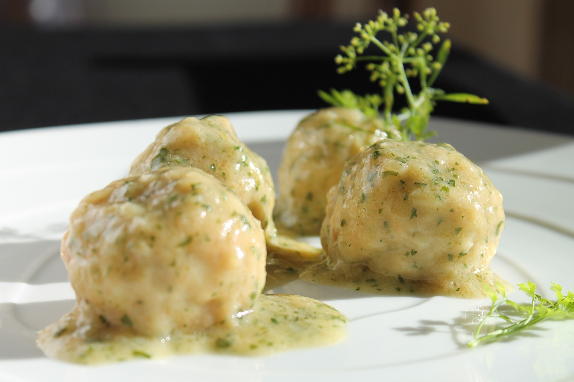 Simply Greek Meatballs with Lemon Sauce - (Youvarlakia)