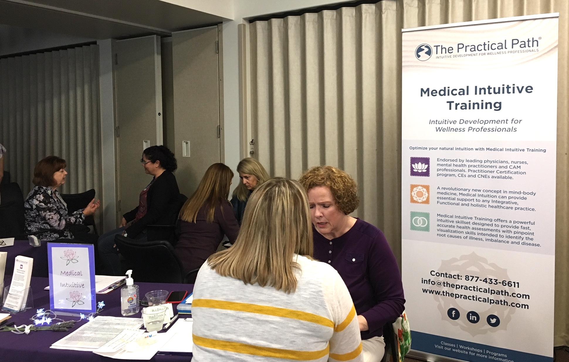 Medical Intuitives at Code Lavender, Scripps, La Jolla, CA
