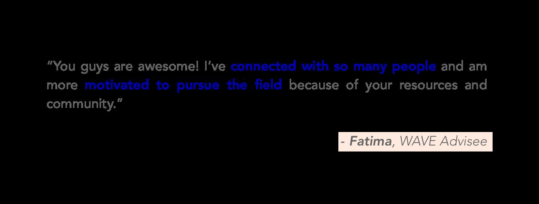 Testimonial on #BUILTBYGIRLS