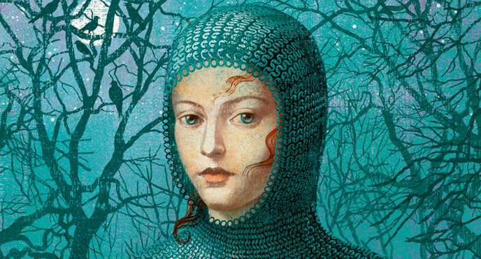 Cover detail from  Hild , by Nicola Griffith. Illustration by Anna and Elena Balbusso.