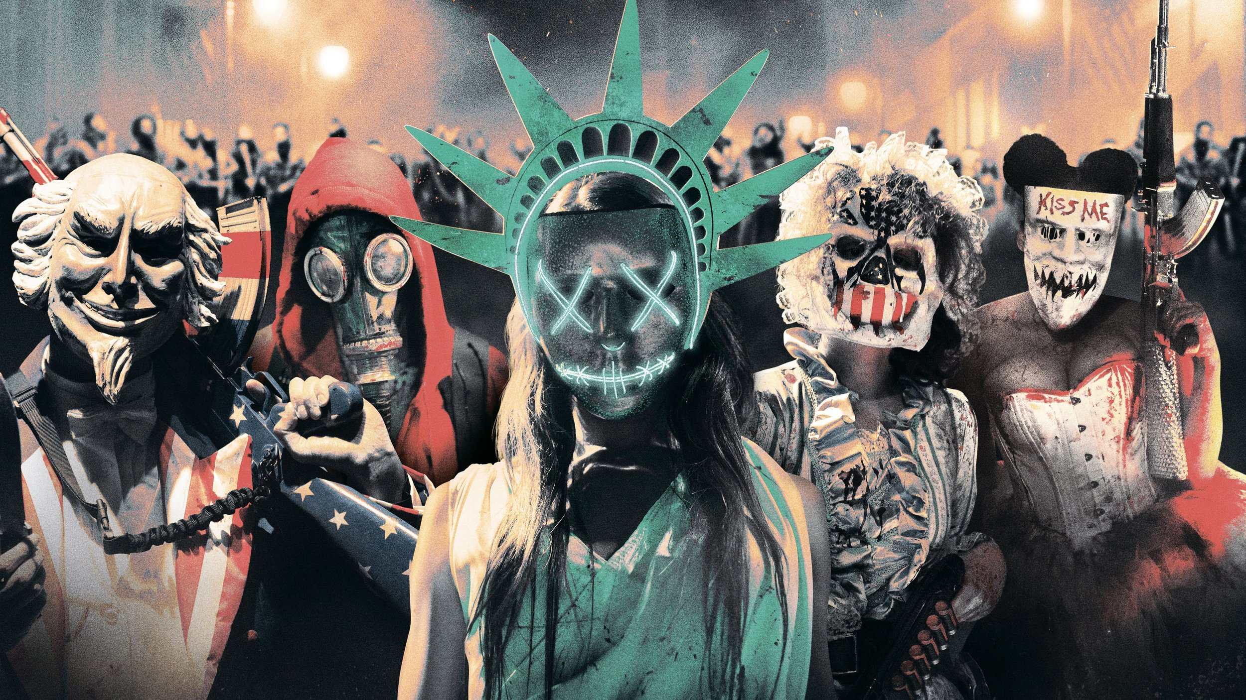 Image from  The Purge: Election Year