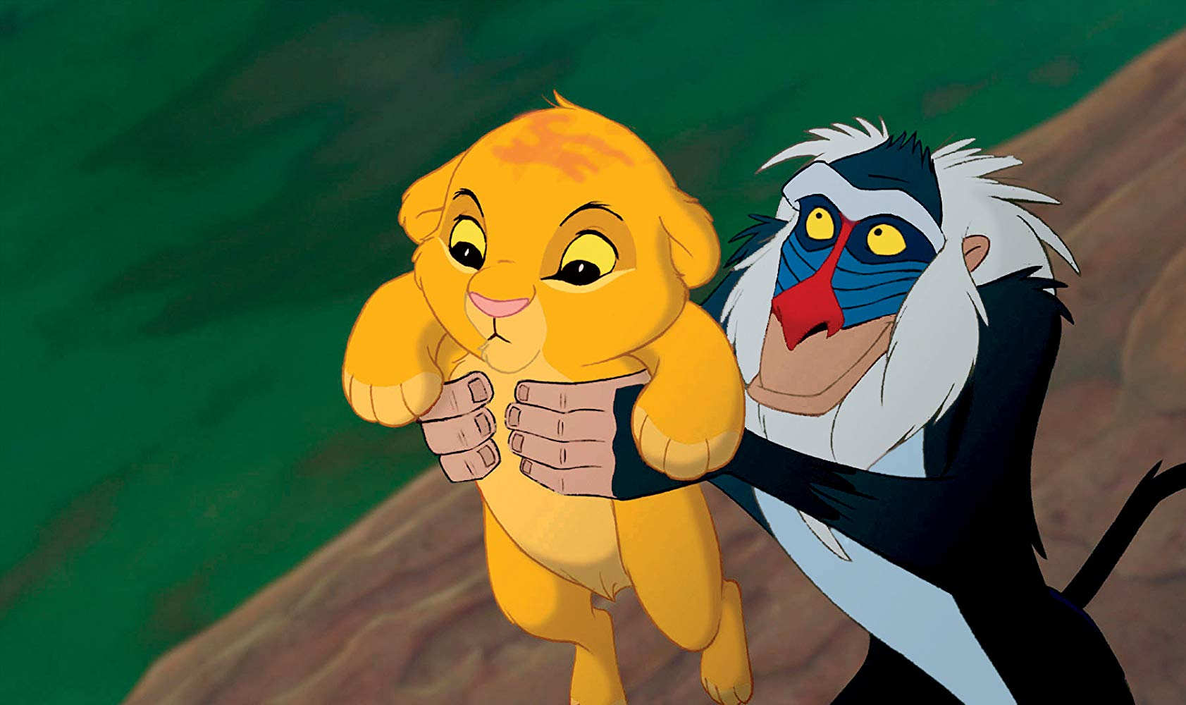 Remember 1994, when  The Lion King  was animated and it wasn't photorealistic CGI and we were young and naive and the world seemed fresh and new?
