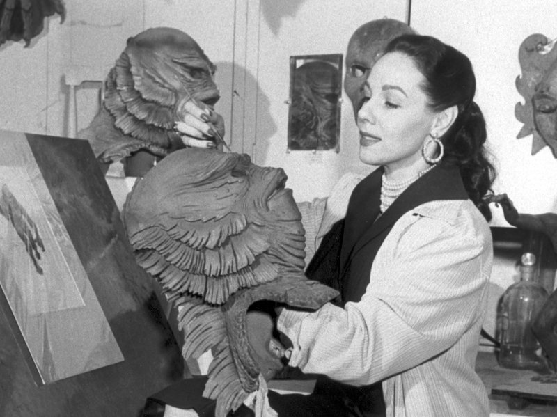 Millicent Patrick designing the Creature from the Black Lagoon