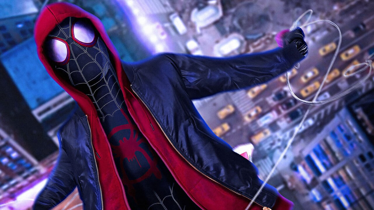 Spider-Man: Into the Spider Verse  has one of the coolest multiverses of all timelines