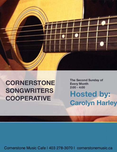 CORNERSTONE SONGWRITERS COOPERATIVE by Carolyn Harley  All Ages - All Levels - All Styles Welcome