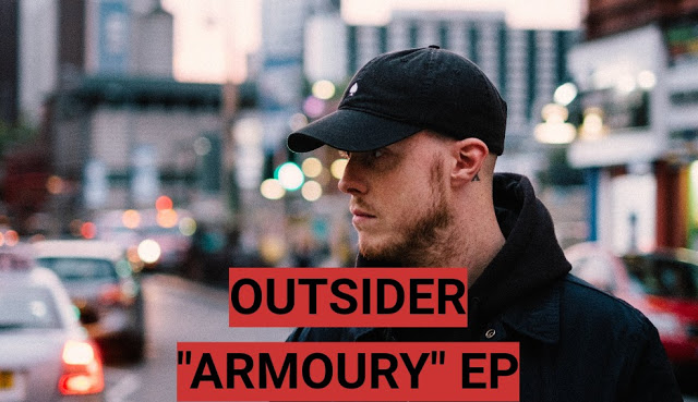 OUTSIDER'S ARMOURY EP IS A MUST LISTEN FOR ANY GRIME FAN -