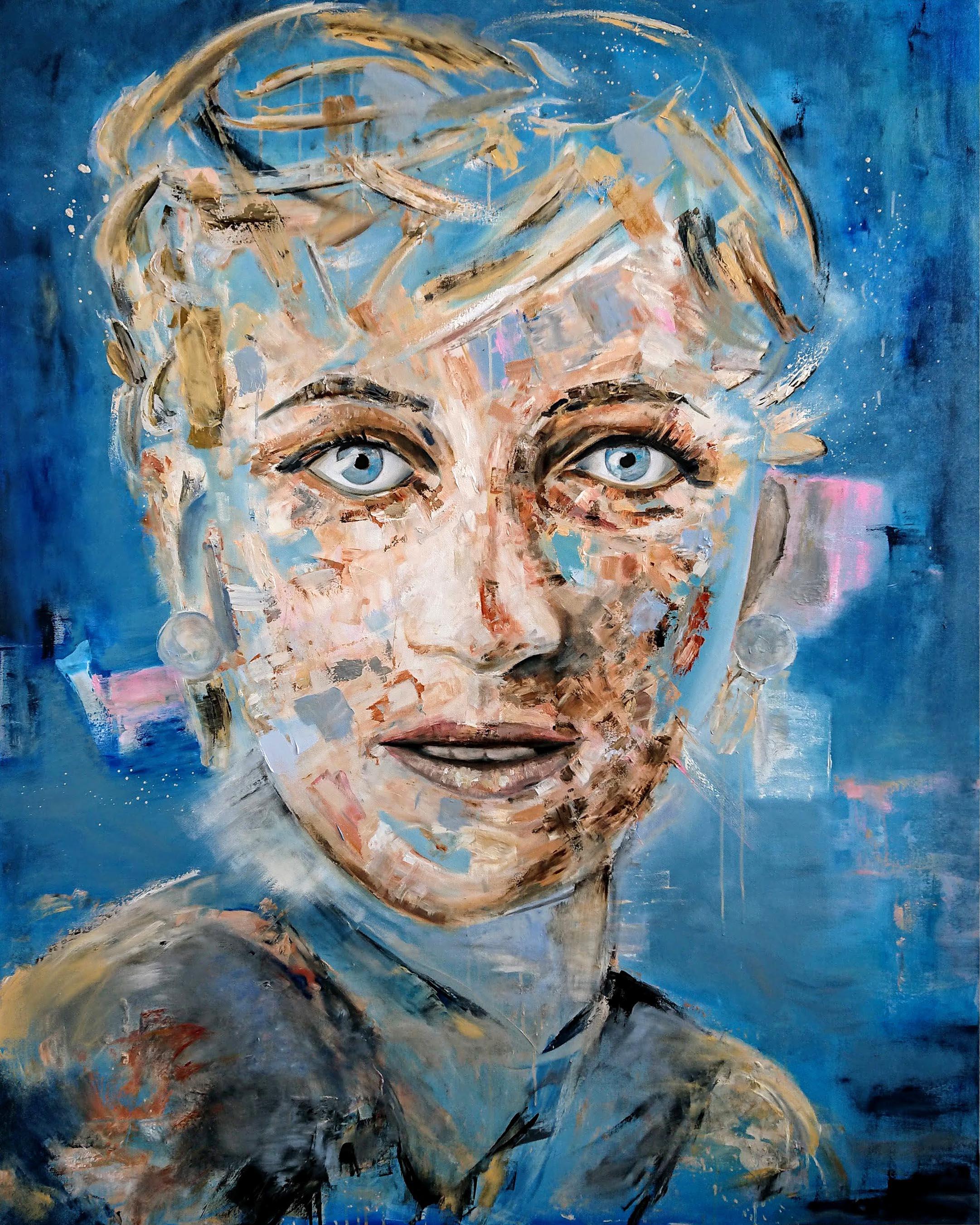 Princess Diana - by Jc Trouboul